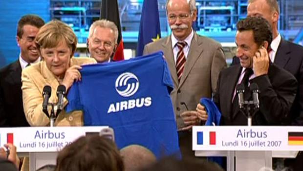 1 Fericirea EADS pentru Markel si Sarkozy, prapad pentru romani