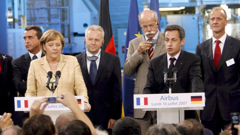 1 Merkel si Sarkozy la Toulouse