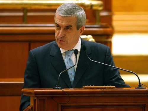 Tariceanu-Parlament