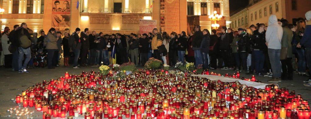 A cincea zi de proteste. Numărul victimelor de la Club Colectiv a ajuns la 39