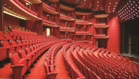 tnb sala mare, teatru gol 2
