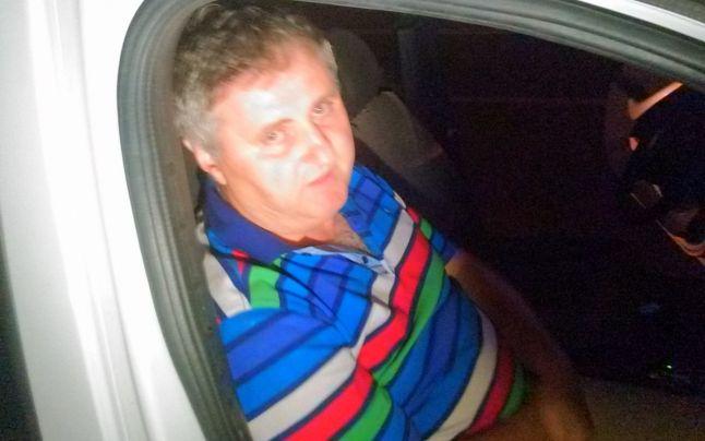 """Vasile Horga la c\teva minute după accident a fost """"plasat"""" în maşina Poliţiei"""