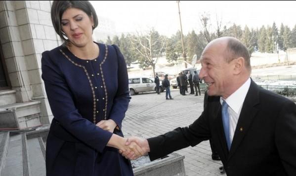 Kovesi si Basescu