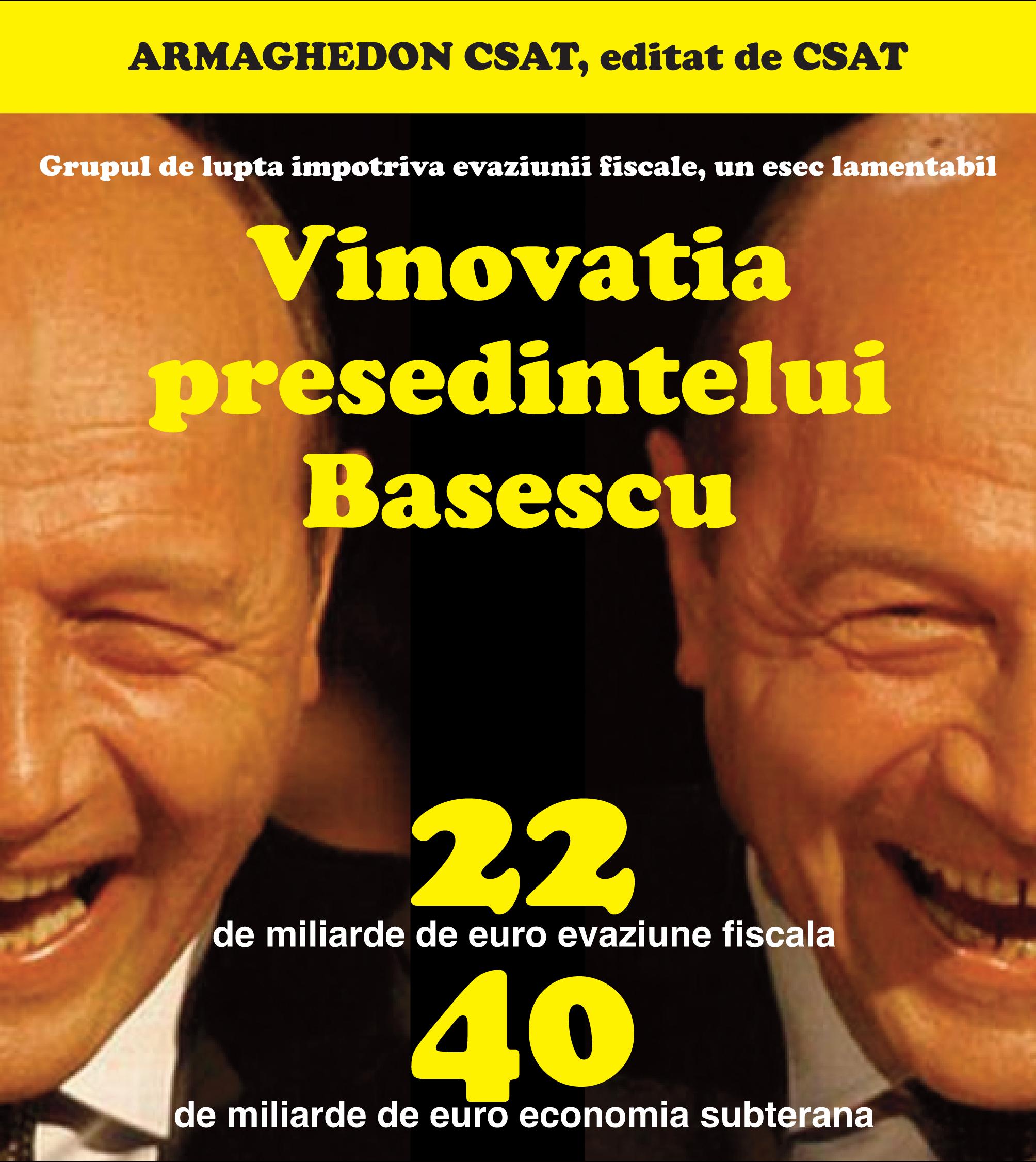 Cartea cărţiilor! Traian Băsescu, preşedintele tuturor românilor
