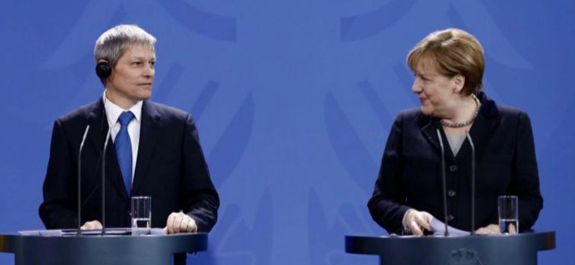 Merkel şi Cioloş, doi lideri cu spatele la zid