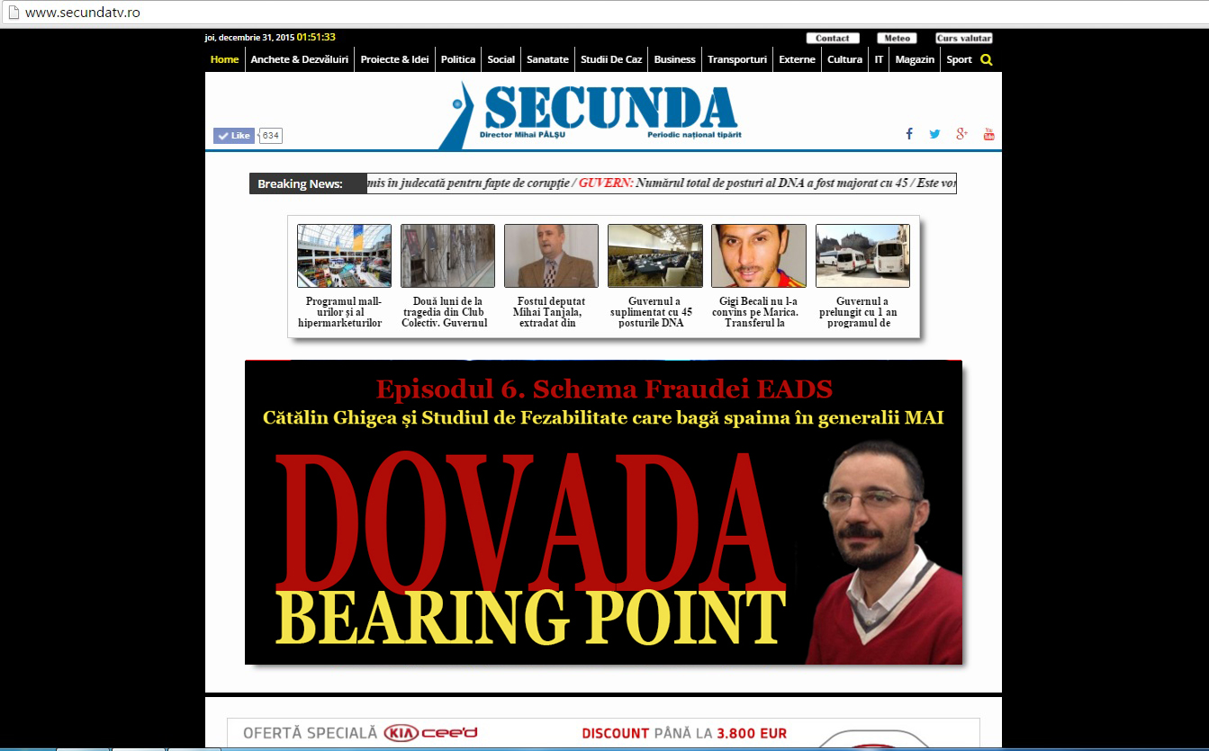 Dovada Bearing Point EADS