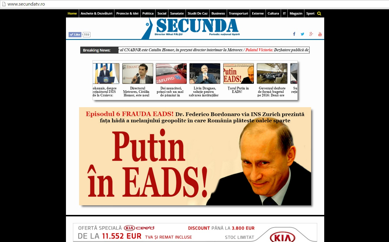 Putin in EADS