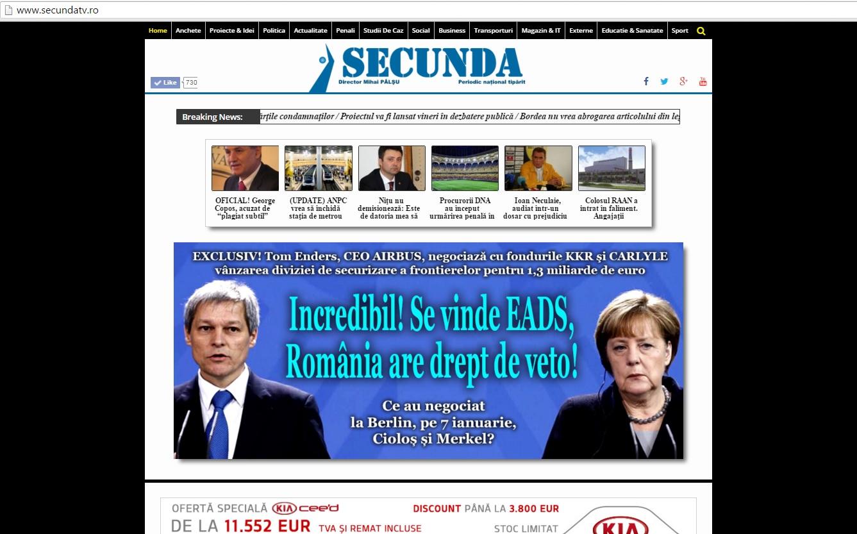 Romania se vinde EADS