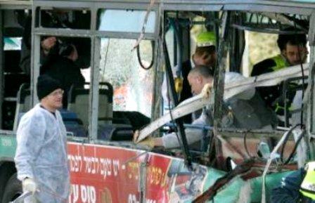 explozie ierusalim, autobuz