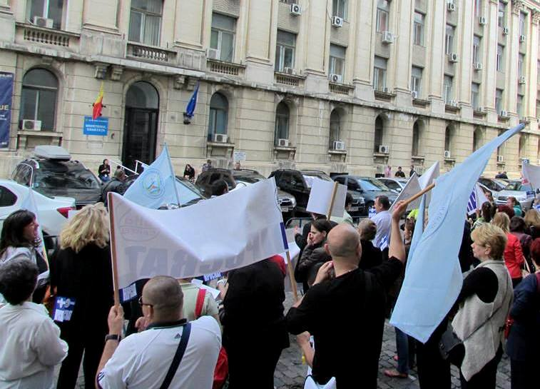 protest, sindicat, sanatate, miting, pichet 0