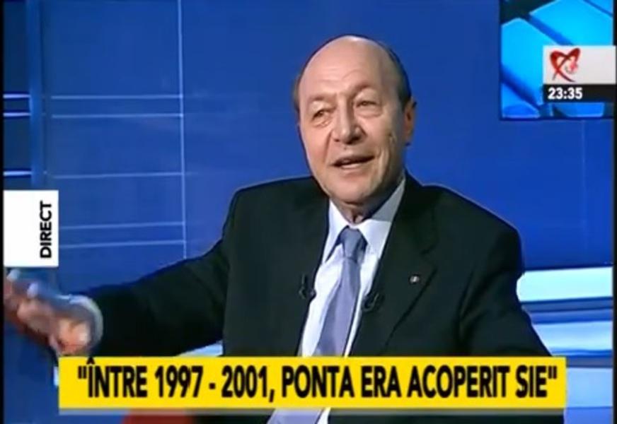 Basescu la Realitatea SIE