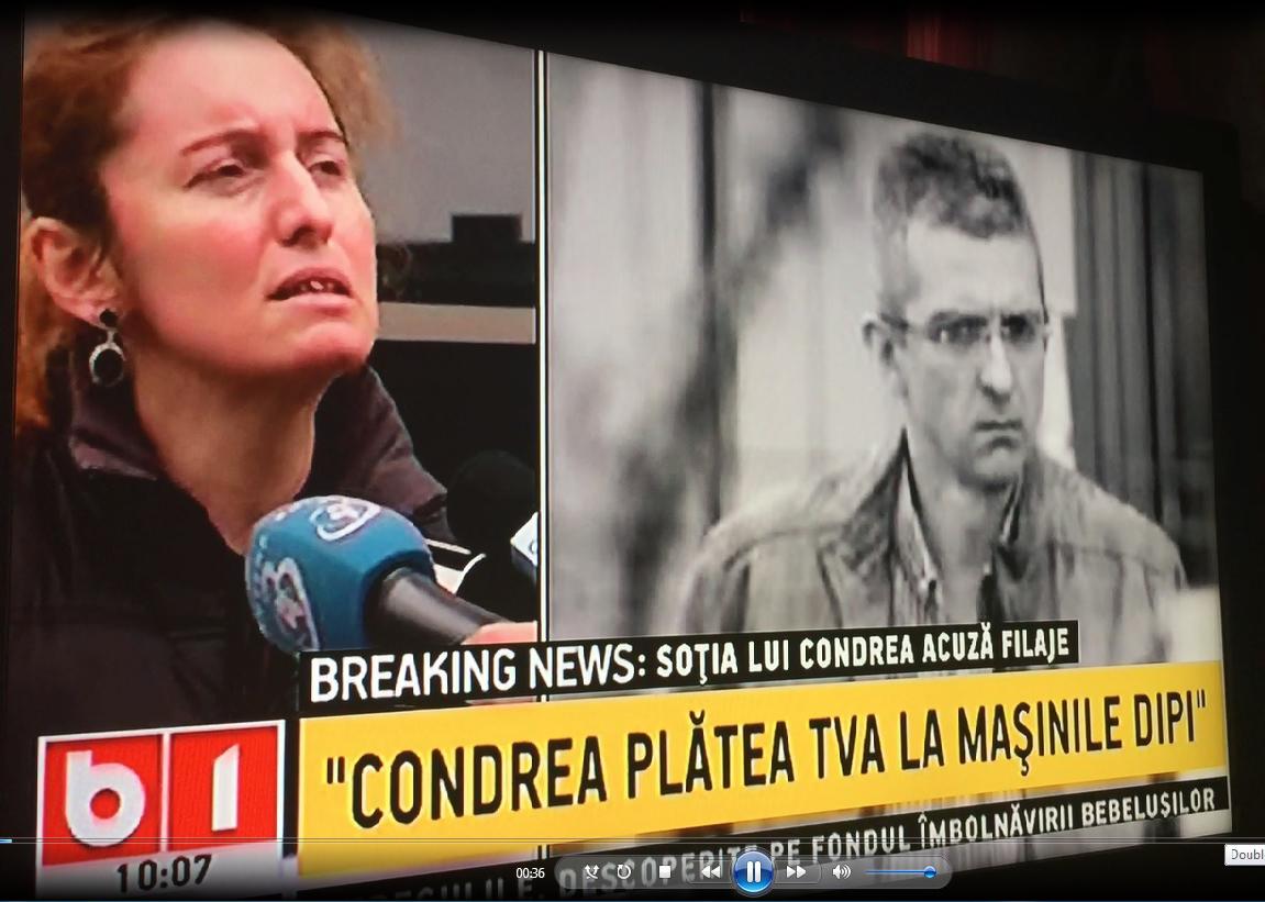 Laura Gerogescu Condrea declaratii 1