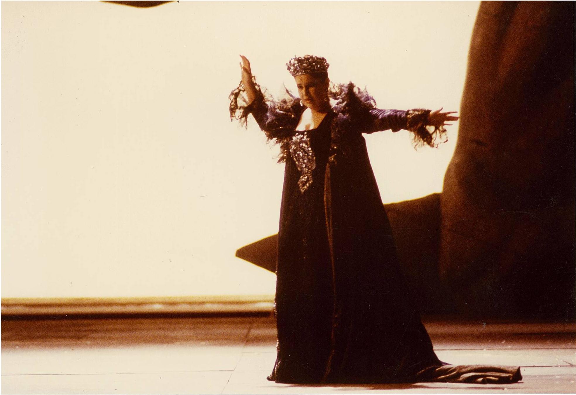 Regina Climene în Fetonte de Jommelli.Teatro alla Scala, Milano