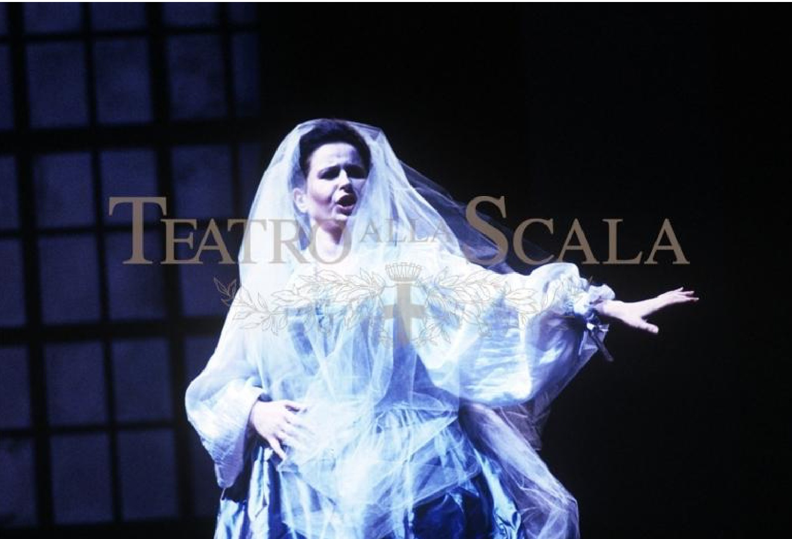 Euridice in L'Orfeo de Luigi Rossi.Teatrul alla Scala, Milano