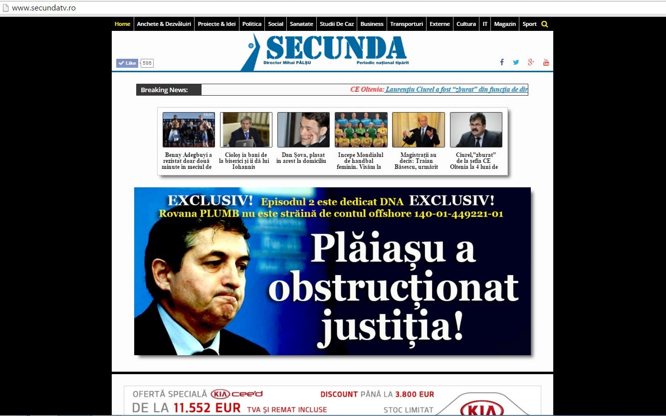 5 dec 2015 Plaiasu a obstructionat justitia