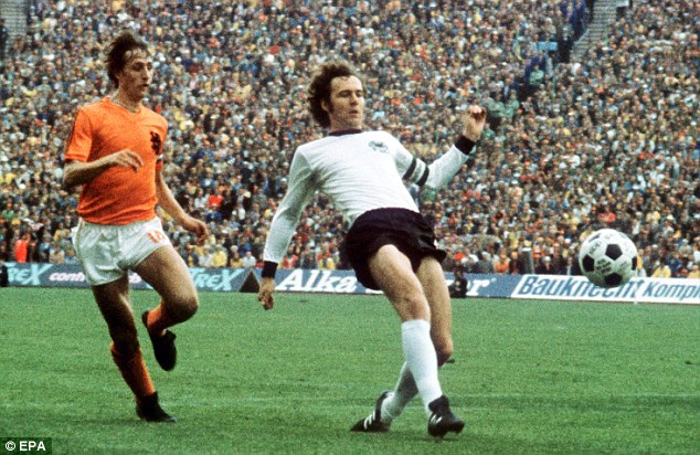 Cruyff si Beckenbauer