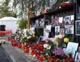 Lumânări și flori în memoria victimelor din Colectiv