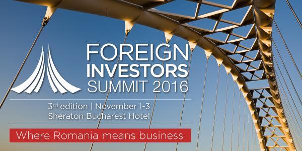 foreign investors summit 2016, strategia de tara