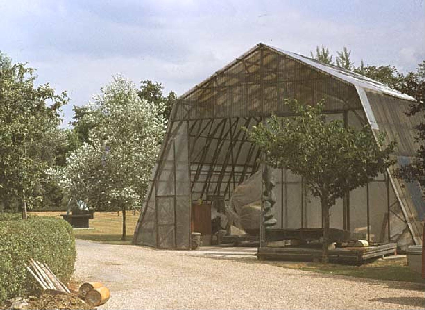 Atelierul de vară al lui Henry Moore de la Much Hadham
