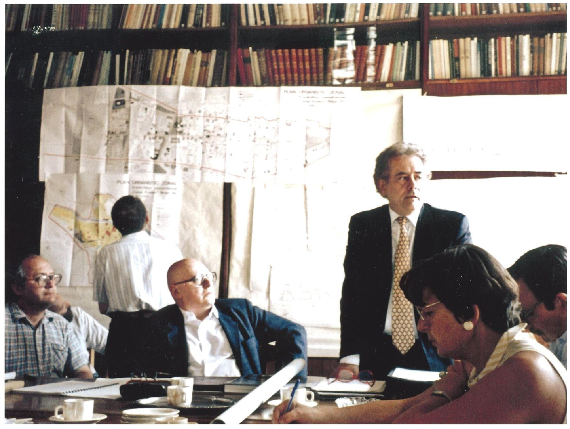 28 iulie 1994: Comisia Naţională a Monumentelor Istorice aprobă Proiectul de Restaurare al Fundaţiei Internaţionale Constantin Brâncuşi