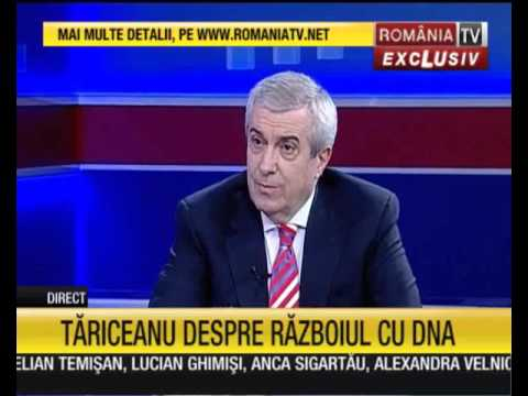 tariceanu la romania tv