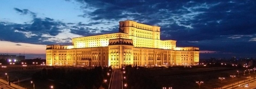 parlamentul romaniei noaptea
