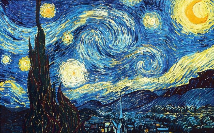 Vincent van Gogh the-starry-night