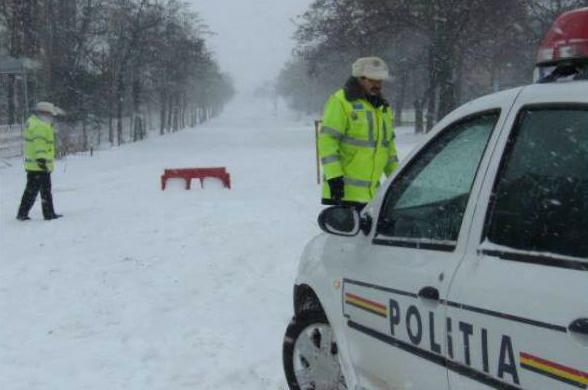 politia drum zapada inchis 1