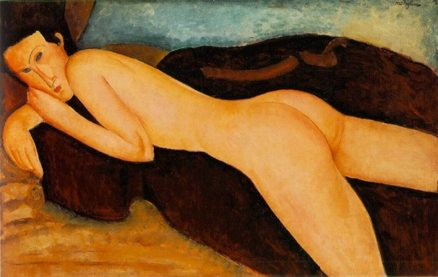 Amedeo_Modigliani-Nu-couch_de_dos