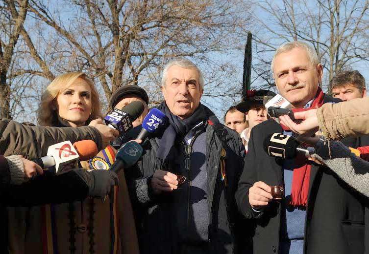 OLIGARHIA conduce România! Tariceanu-dragnea-firea