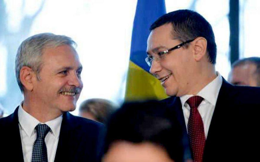 Dragnea - Înfruntarea ZEILOR penali! Securistul Maior toarnă kerosen pe Clanul Dragnea PSD! Ponta-si-Dragnea-rad-fericiti-870x544